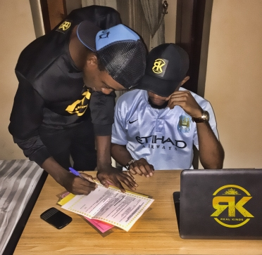G-teck and I.E jay officially signed by Real Kings entertainment (photos)